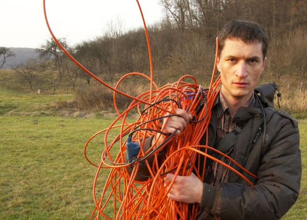 Dispatch from the Fracking Front Lines: Transylvania Fights Back - Fracking protester in Transylvania