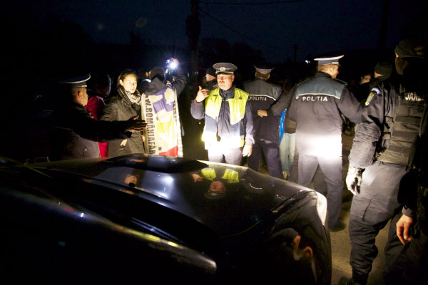 Dispatch from the Fracking Front Lines: Transylvania Fights Back - Romanian fracking protesters fighting police