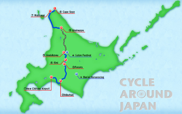 cycle around japan a summer trip to hokkaido link tv