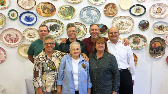 The Gleasons at the Turkey Platter Museum, Red Pipe Gallery | Photo courtesy of The Gleasons.
