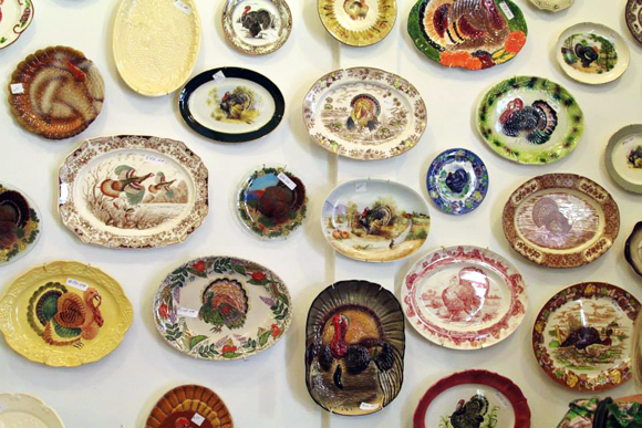 Turkey Platter Museum at the Red Pipe Gallery | Photo: Anne Marie Rousseau.