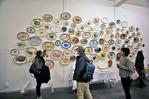 Turkey Platter Museum at the Red Pipe Gallery | Photo: Eric Minh Swenson.