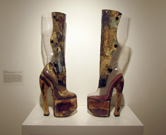 """""""Untitled,"""" by Chris Francis. On display at Craft and Folk Art Museum. 