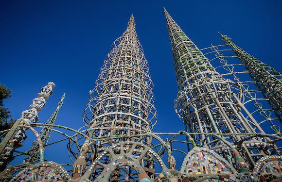 Watts Towers | Photo: Stephen Schafer, Schafphoto.com