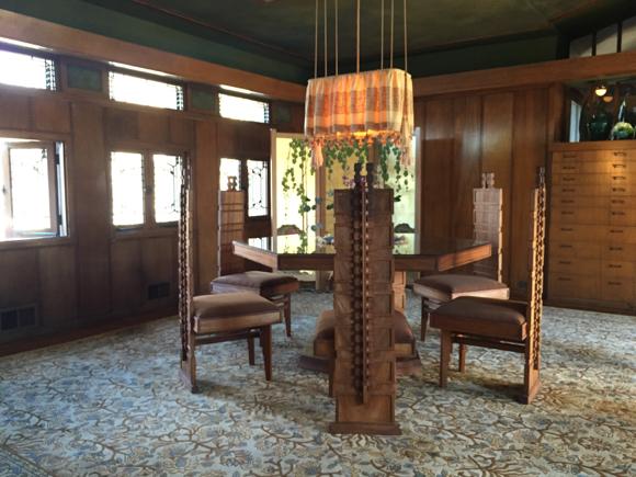 Hollyhock House Dining Room | Photo: Tanja M. Laden