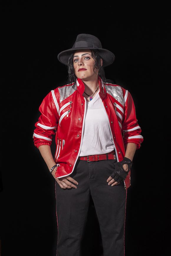 JenNjuice4MJ (Jen Amerson), tribute artist, Florence, South Carolina, 2012 | Courtesy Lorena Turner