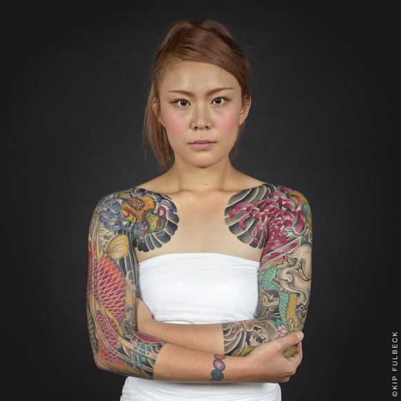 Tattoo work by Horikiku