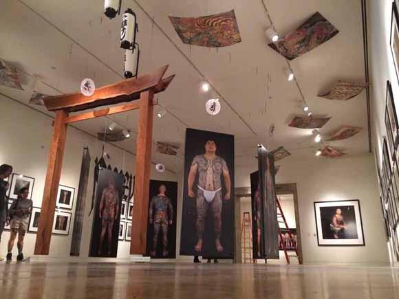"JANM ""Perseverance"" installation shot"