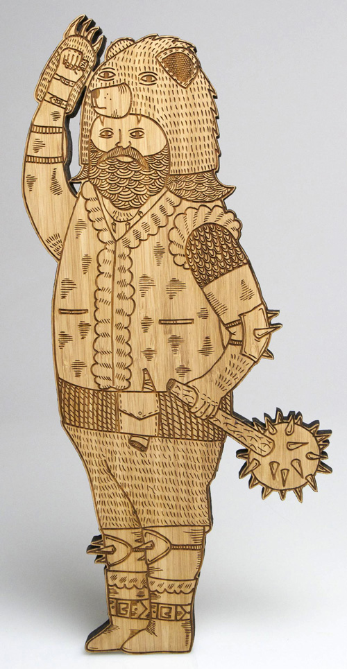 """LASERCUT WOOD ART"" by Michael C. Hsiung"