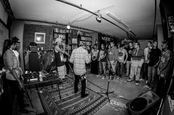 Shaka D playing at BOIS. | Photo: Courtesy of James Ortiz.