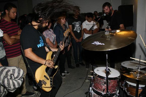 Loma Prieta playing at BOIS. | Photo: Courtesy of Dan Rawe.