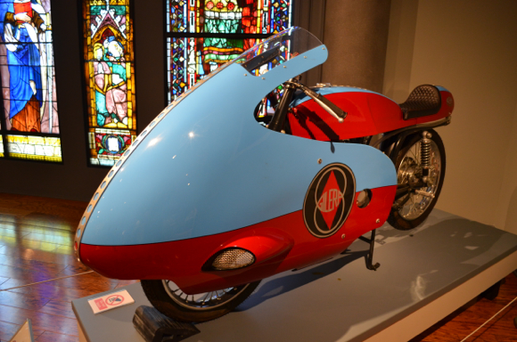 1953 Gilera Road Racer, Courtesy of Barry Weiss, Photo by Brendan A. Murray