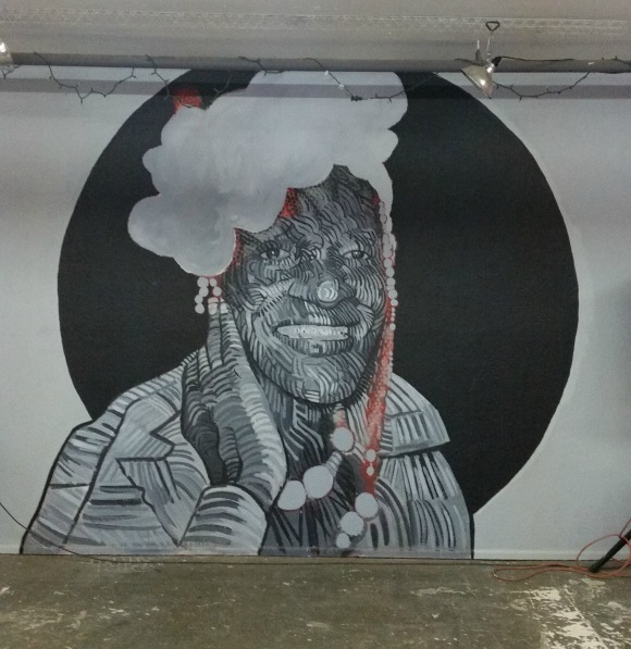Mural of Marsha P. Johnson. | Photo: Luis Sanchez.