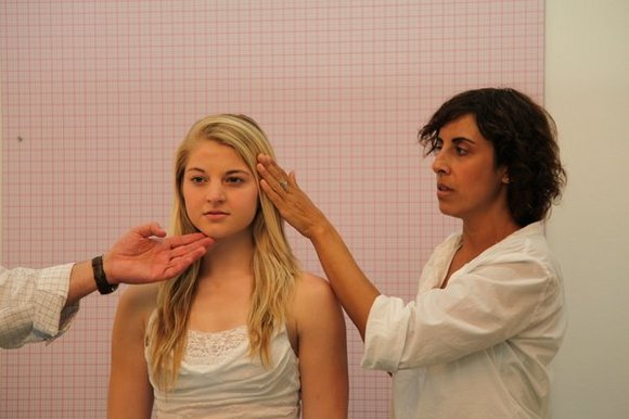 Documentation of Casting Call at LAXART, 2010