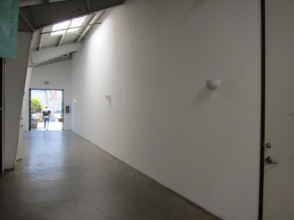 The <em>Wall Works</em> public hallway in Bergamot Station. | Photo: Courtesy Santa Monica Museum of Art.