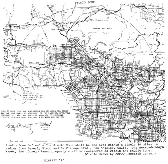 """30 Mile Map"" 