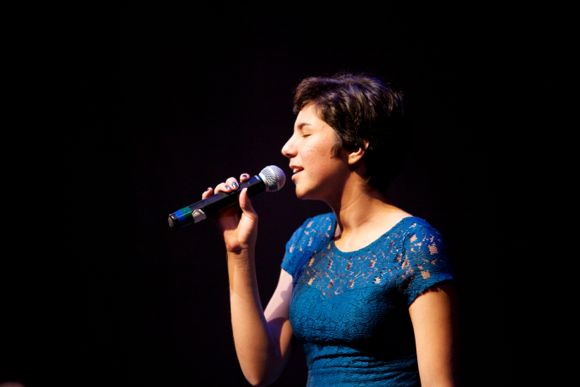 A vocal performance at Young Arts L.A., 2013. | Katherine Bollens, courtesy of YoungArts