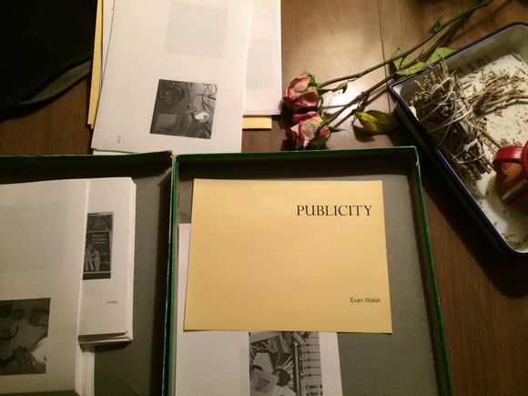"""Publicity"" will be available at KCHUNG's L.A. Art Book Fair booth. 