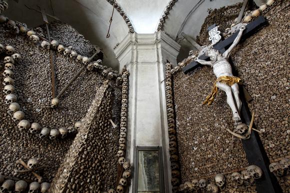 Ossuary in Kolin, Czech Republic | Photo by Paul Koudounaris