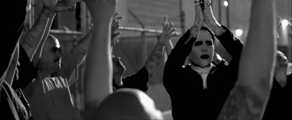 "Marilyn Manson - ""The Mephistopheles of Los Angeles"" (2015). Director: Francesco Carrozzini."