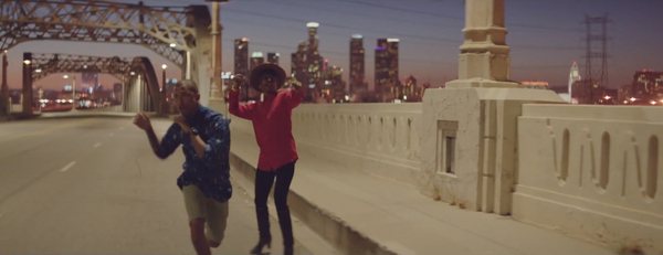 """Pharrell Williams - """"Happy"""" (2013). 
