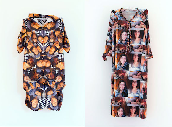 """CamLab's selfie dresses from """"Permissionary"""" (2013)"""