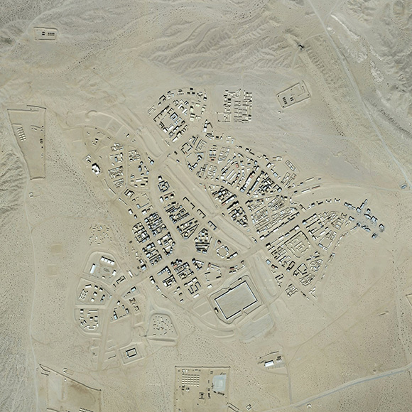 An aerial view of Range 220.   Photo: Google Maps.