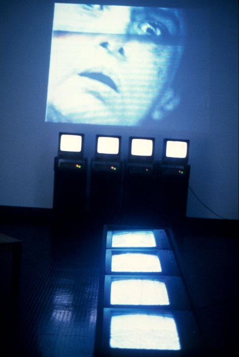 Installation view of <em>Stretching</em>, 1999. | Photo: Courtesy of Marsia Alexander-Clarke.