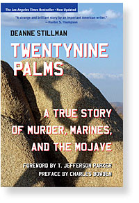 "Book cover for ""Twentynine Palms"" by Deanne Stillman. 