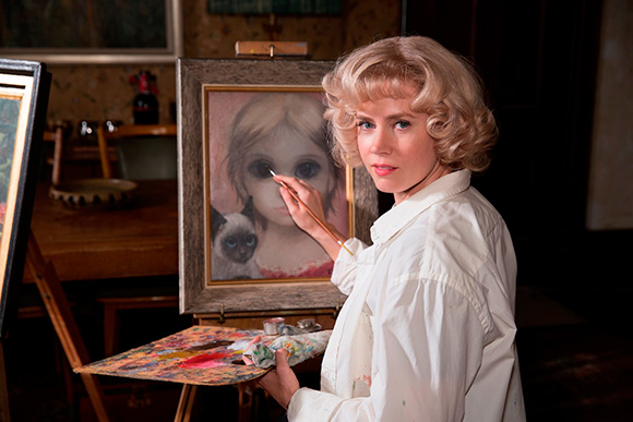 "Amy Adams as Margaret Keane in the film ""Big Eyes."" 