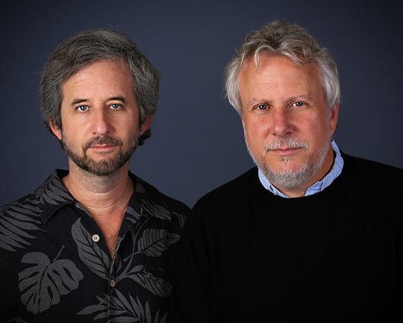 Portraits of Scott Alexander and Larry Karaszewski. | Photo courtesy of Scott Alexander and Larry Karaszewski.
