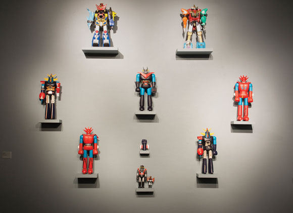 Mario Ybarra Jr., Recollected Robot Toy Collection, 2012,