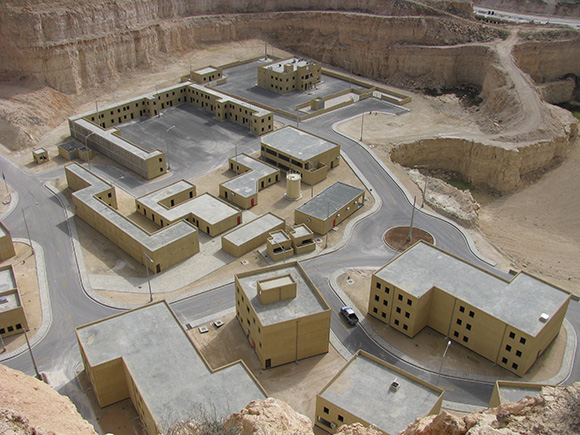 A section of the King Abdullah Special Operations Training Center in Jordan.   Photo: General Dynamics Information Technology.