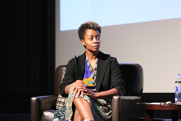 The Un-Private Collection: Kara Walker and Ava DuVernay, an art talk presented by The Broad museum, held at The Writers Guild Theater on Saturday, October 11, 2014, in Beverly Hills, Calif. (Photo by Ryan Miller/The Broad)