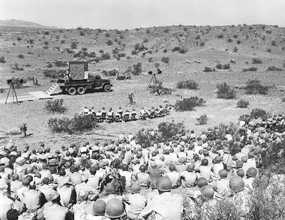 Desert Deployment Southern California S World War Ii