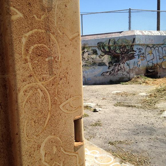 """Katlyn Dorroh, """"Reverse Graffiti.""""   Photo: Janet Owen Driggs."""