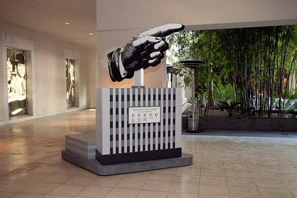 The Hand from Machine Project's Hammer residency | Photo: Courtesy of Machine Project.