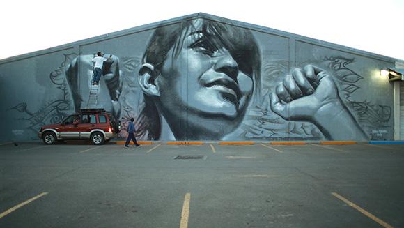 El Mac mural. | Photo: Eric Heights.