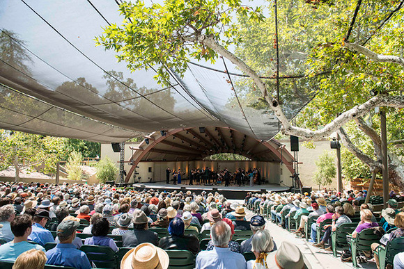 68th Ojai Music Fest, Libbey Bowl, June 15,2014.