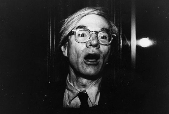 Andy Warhol by Gary Leonard | Image courtesy of LAPL.