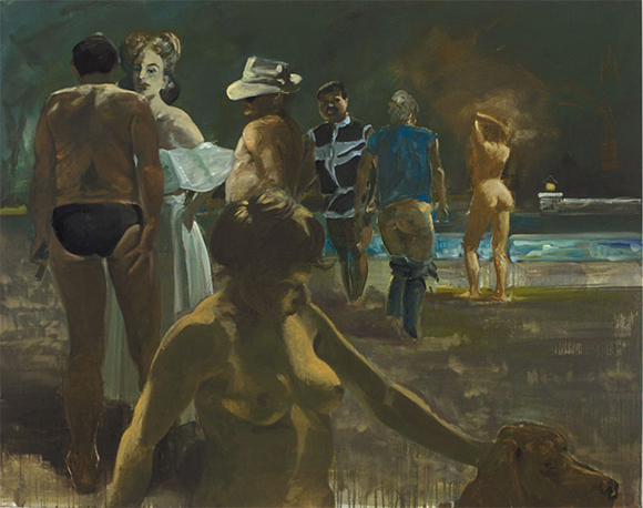 "Eric Fischl, ""Truman Capote in Hollywood,"" 1988 