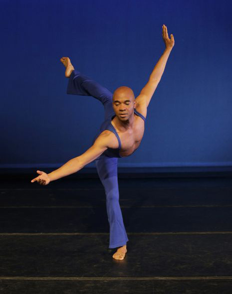 "Alvin Ailey American Dance Theater's Matthew Rushing in Alvin Ailey's ""Love Songs."" 