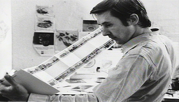 Ed Ruscha photographed by Jerry McMillan