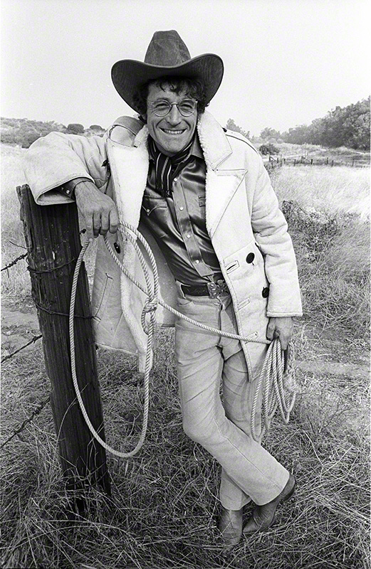 Ramblin' Jack Elliott, California, 1973 © Henry Diltz