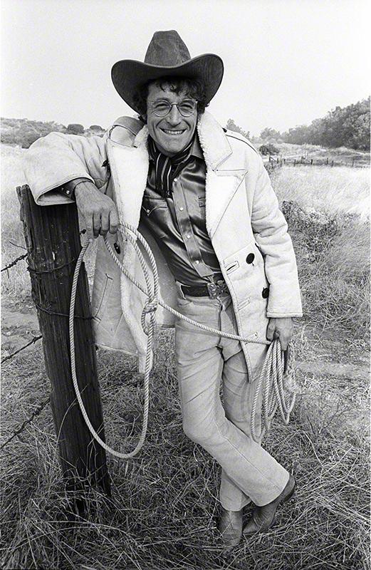 Ramblin' Jack Elliott, California, 1973 © Henry Diltz