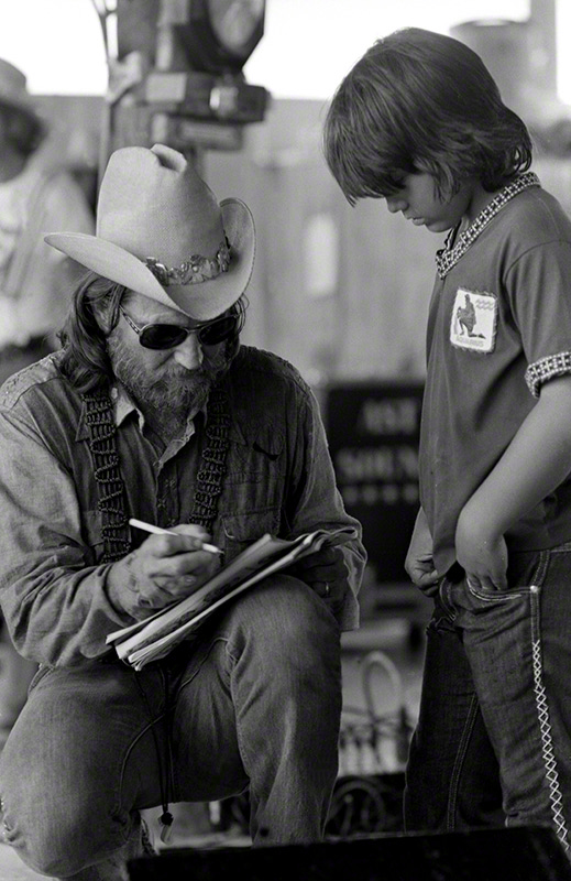 Willie Nelson, Texas, c. 1974 © Raeanne Rubenstein