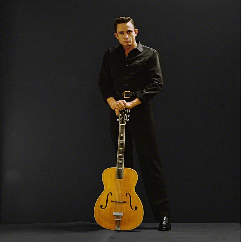 Johnny Cash © Leigh Wiener