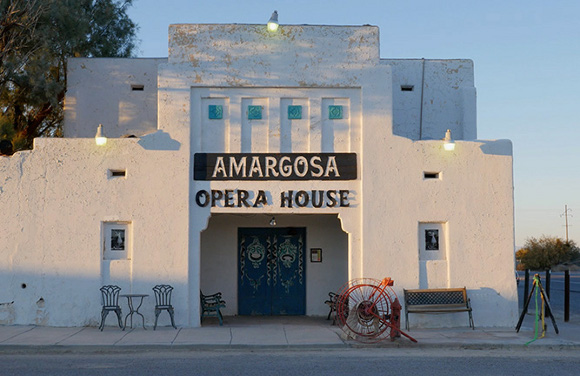 The Amargosa Opera House at Death Valley Junction. | Photo: Kim Stringfellow.