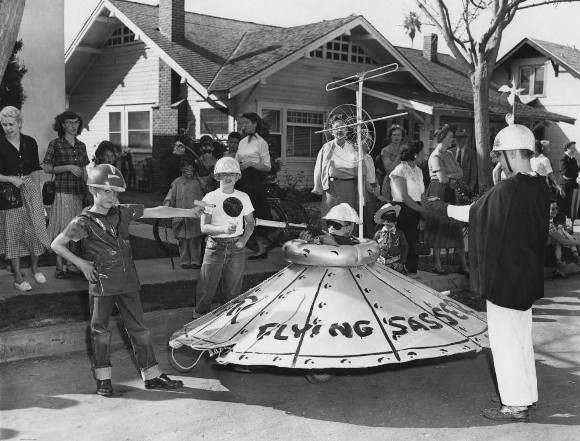 """Flying Sasser,"" 1953. 