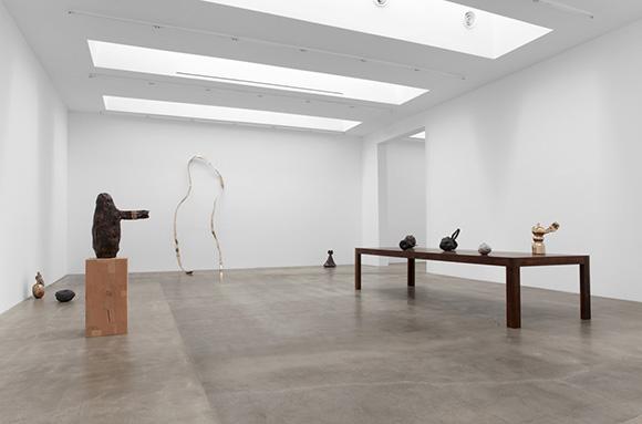 Alma Allen, Installation view, 2015, Blum & Poe, Los Angeles | Courtesy of the artist and Blum & Poe